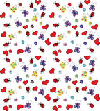 Floral background. Children floral background Vector Graphics Stock Photography
