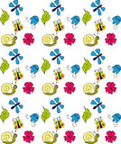 Floral background. Children floral background Vector Graphics Stock Photo