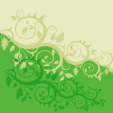 Floral background. (abstract vector ornament Stock Photography