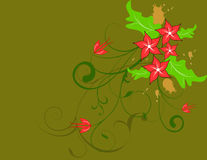 Floral background. Abstract vector illustration for design Royalty Free Stock Images