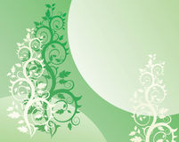 Floral background. (abstract vector ornament Royalty Free Stock Photo