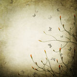 Floral Background. Beautiful Vintage Floral Background.With copy space royalty free illustration