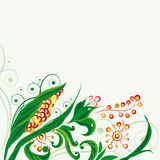 Floral background. An illustration for your design project Royalty Free Stock Photos