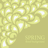 Floral background. Beauty greeting card Royalty Free Stock Photography