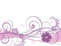 Floral background. For design use. Vector illustration Royalty Free Stock Images