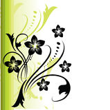 Floral background. Abstract summer  floral background illustration Stock Photo