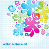 Floral background. An excellent example for creating wallpapers, fabrics, illustrations in books, artwork, packaging Royalty Free Stock Photos