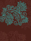Floral background. Beautiful design element Royalty Free Stock Photos