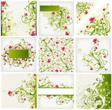 Floral background. Illustration drawing of floral background Royalty Free Stock Photos