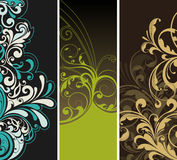 Floral background. Illustration drawing of floral background Royalty Free Stock Photo