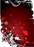 Floral background. Illustration can be used for different purposes Royalty Free Stock Photo