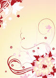 Floral background. Illustration can be used for different purposes Stock Photography