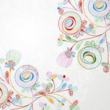 Floral background. It is a floral background Stock Images
