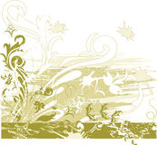 Floral background. Illustration can be used for different purposes Royalty Free Stock Images
