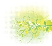 Floral background. Floral halftone background. Vector illustration stock illustration