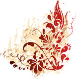 Floral background. Illustration can be used for different purposes Stock Photos