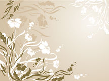 Floral background. Illustration can be used for different purposes Stock Image