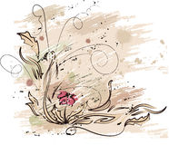 Floral background. Illustration can be used for different purposes Stock Photo
