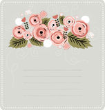 Floral background. Vector illustration. Great for invitations and any stationary use vector illustration