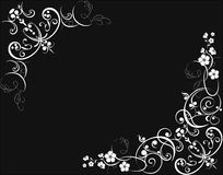 Floral background. Illustration can be used for different purposes Royalty Free Stock Photos