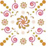 Floral background. Vector illustration of floral background Royalty Free Stock Image