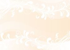 Floral background. Vector Illustration of ornate background with  floral elementsrn Stock Photos
