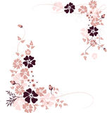 Floral background. Illustration can be used for different purposes Royalty Free Stock Photography