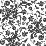 Floral background. Abstract floral background. Vector illustration Royalty Free Stock Photos