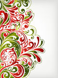Floral background. Illustration drawing of floral background Royalty Free Stock Photography