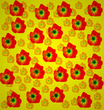 Floral background. Abstract  floral background for design for different needs Royalty Free Stock Photography