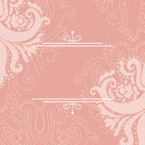 Floral background. Vector abstract background for invitation Stock Photo