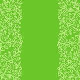 Floral background. Green floral background for design Royalty Free Stock Photography