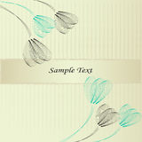 Floral background. Delicate floral background in gentle colors Royalty Free Stock Photos