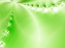 Floral background. Green floral background. Fractal image Stock Image