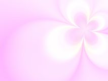 Floral background. Pink flower on a pink background Stock Photography