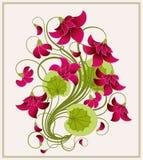 Floral background. royalty free illustration