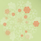 Floral background. Abstract floral background - vector illustration Stock Image