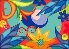 Floral background. Original vector floral background. You'll find more in my portfolio vector illustration