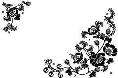 Floral background. Vector - floral background greetings card Vector Illustration