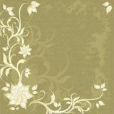 Floral background stock illustration