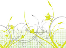 Floral background. Illustration drawing of flower floral background Stock Photos