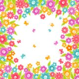 Floral background. Stock Photography