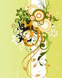 Floral background. Illustration drawing of floral background Stock Photos