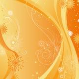 Floral background. Illustration drawing of floral background Stock Illustration