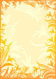 Floral background. For different aplications Royalty Free Stock Photo