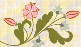 Floral background. Elegant floral background. Vector illustration Royalty Free Stock Images