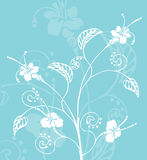 Floral background. Abstract floral background royalty free illustration