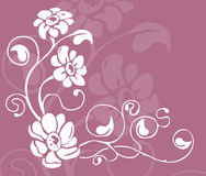 Floral background. An abstract floral background stock illustration