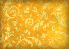 Floral background. Floral grunge background on stained Textured Royalty Free Stock Photos
