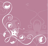 Floral background. A Floral background image stock illustration